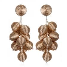 suzanna dai earrings suzanna dai blush gumball bon bon earrings hauteheadquarters