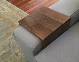 Sofa Arm Table by Arm Rest Etsy