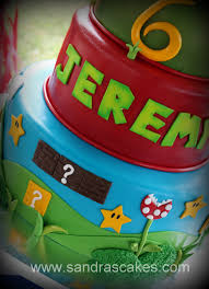 super mario birthday cake