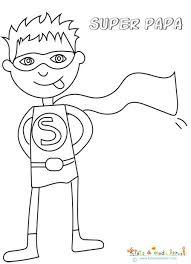 Coloriage De Logo Super Heros Super Papa Coloriage Super Heros Fille