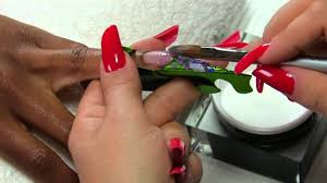 magnetic nail design disco nail by nita garcia in french and