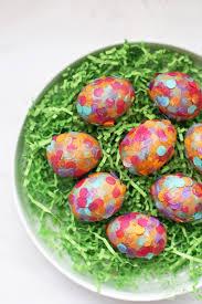 stuffed easter eggs confetti conversation starter eggs one lovely