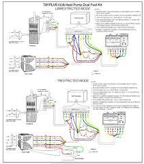 heat pump thermostat wiring diagram wiring diagram byblank