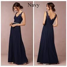 navy bridesmaid dresses navy blue chiffon bridesmaid dresses lace cap sleeves cheap