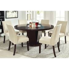 Decorate Round Dining Table Fine Decoration Round Wood Dining Table Set Marvelous Round Wood