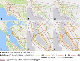 Google Maps Los Angeles Resilience And Efficiency In Transportation Networks Science