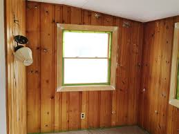 Covering Wood Paneling Painting Wood Paneling Knotty Or Nice Rather Square