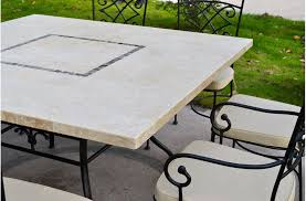 Travertine Patio Table Travertine Patio Table Techieblogie Info