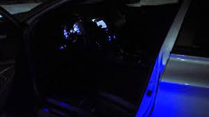 2011 Sonata Interior 2013 Hyundai Sonata Se Custom Blue Led Interior Lighting Youtube