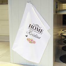 personalised tea towel hello spring pinterest towels and teas