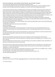 Best Free Resume Builder Program by 21 Cover Letter Template For Free Resume Website Builder Gethook