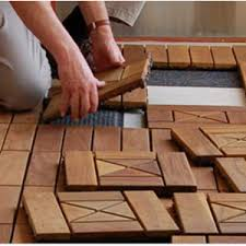 floor four interlocking deck tiles design ideas with various cool