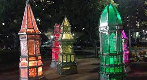 toyota center heritage lanterns in downtown houston 365 houston