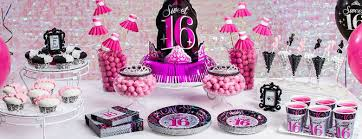 sweet 16 party decorations sweet 16 birthday party supplies party delights