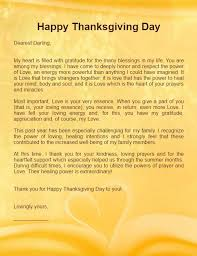 thanksgiving letters for him