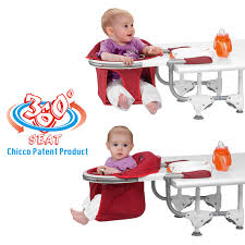 chicco booster seat for table babywaren24 chicco 360 table seat grey purchase online