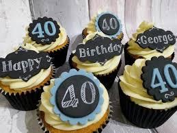best 40th birthday cupcake ideas for him cake decor u0026 food photos