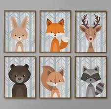 Woodland Decor Nursery Fashionable Inspiration Baby Boy Wall With Nursery Decor