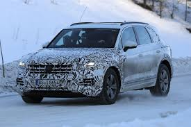 2017 volkswagen touareg suv gets ready for launch carbuyer