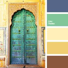 color combination for green color of old gold color palette ideas
