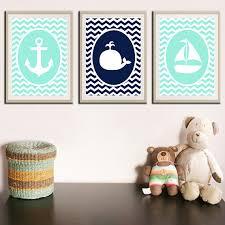Sailboat Decor For Nursery Nautical Nursery Nautical Decor Nursery Decor Whale