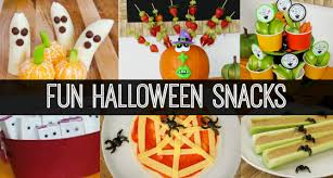 classroom halloween party snacks
