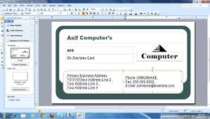 Create Business Card Free How To Make Business Cards In Word Card Design Ideas