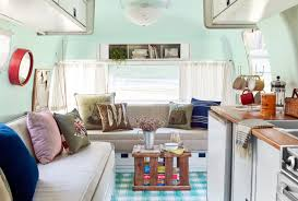 Vintage Airstream Interior by 9 Smart And Stylish Ways To Update An Old Travel Trailer Travel