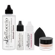 belloccio professional medium shade airbrush cosmetic makeup
