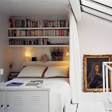 Beds With Bookshelves Smallrooms