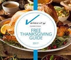 2017 thanksgiving planning guide