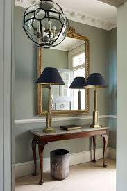 Hallway Console Table And Mirror In The Frame Hallway Designs Console Tables And Consoles