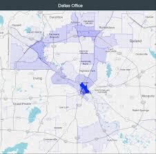 Dallas On Map by Realmassive Commercial Real Estate Data