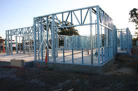 frame steel framed home plans