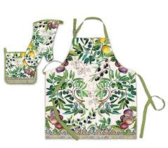 buy michel design works peony chef apron online at low prices in