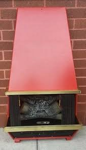 Sears Electric Fireplace Vintage Mid Century Modern Faux Fireplace Sears Mod Faux