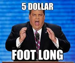 Chris Christie Resume 5 Dollar Foot Long Chris Christie Scott Alfred Neuman Walker