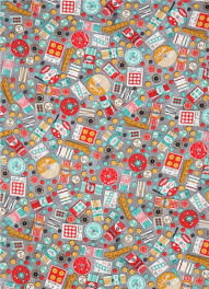 grey robert kaufman fabric colorful sewing item notion grans