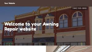 How To Repair An Awning Awning Repair Website Templates Godaddy