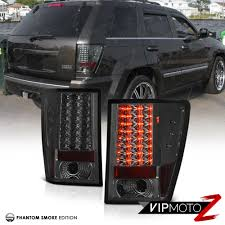silver jeep grand cherokee 2007 2007 2010 jeep grand cherokee wk srt8 l r smoke led smd tail
