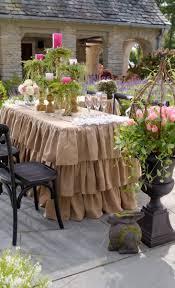 dining room burlap overlay burlap tablecloth burlap table