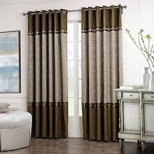 Double Panel Shower Curtains Rod Pocket Grommet Top Tab Top Double Pleated Two Panels Curtain