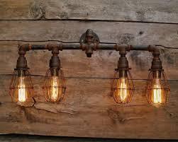 Rustic Bathroom Lighting - rustic bathroom vanity lights elegant best industrial bathroom