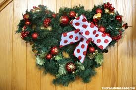 Minnie Mouse Christmas Decorations Mouse Christmas Wreath