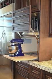 Kitchen Cupboard Designs Plans by Best 20 Kitchen Appliance Storage Ideas On Pinterest Appliance
