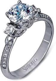 simon g engagement rings simon g three engagement ring lp2076
