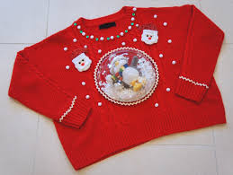diy ugly christmas sweater rent a center front u0026 center