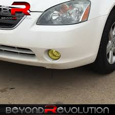 nissan altima 2005 front bumper for 02 04 nissan altima jdm style yellow front bumper driving fog