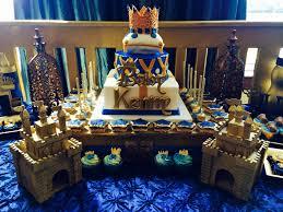 royal prince cake topped with a gold fondant crown royal prince