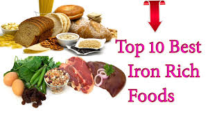 top 10 best iron rich foods to increase your blood hemoglobin fast